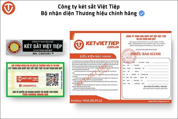 Phân biệt két sắt Việt Tiệp thật giả - Những lưu ý khi chọn mua két sắt chính hãng - Ảnh 2