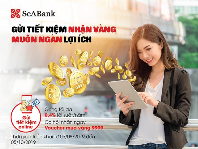 Gửi tiết kiệm nhận vàng cùng muôn ngàn lợi ích tại SeABank - Ảnh 1