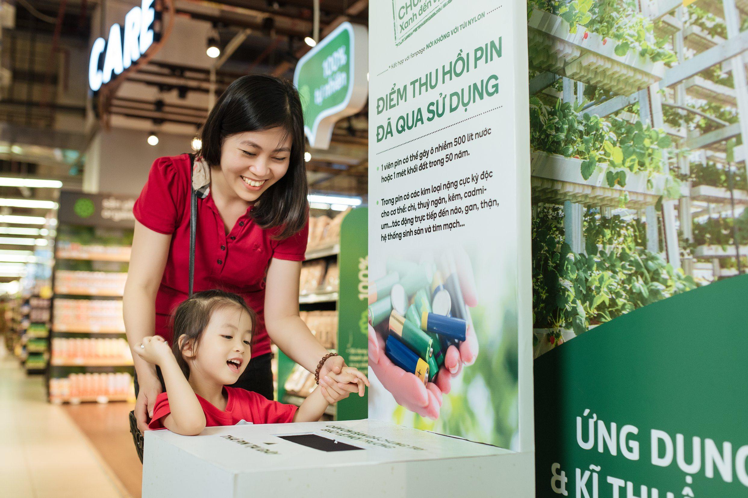 """2.200 siêu thị VinMart & VinMart+ đồng loạt hành động """"3 xanh"""" bảo vệ môi trường  - Ảnh 3"""