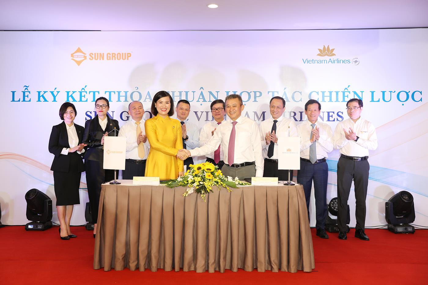 Sun Group ký kết hợp tác chiến lược cùng Vietnam Airlines, phát triển nhiều sản phẩm mới  - Ảnh 1