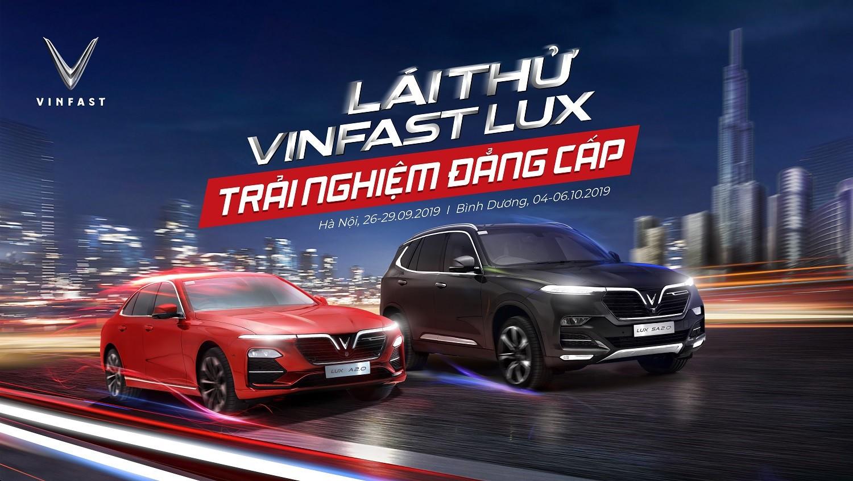 VinFast tổ chức chương trình lái thử xe Lux cùng chuyên gia quốc tế - Ảnh 1
