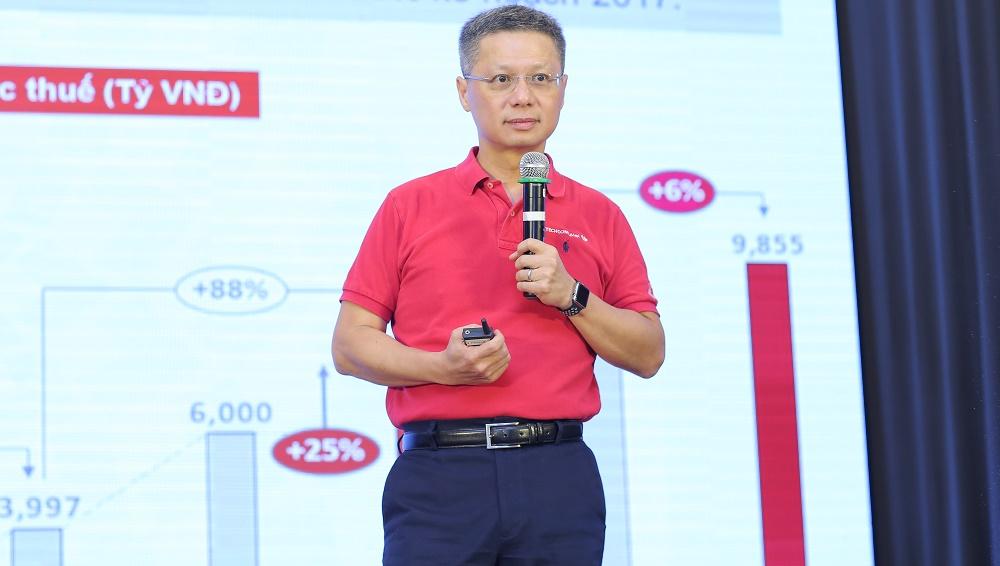 Tổng Giám đốc Techcombank Nguyễn Lê Quốc Anh: Mục tiêu thay đổi cách người Việt dùng tiền - Ảnh 2