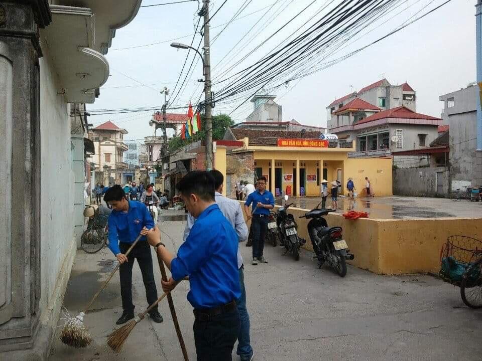 Thị trấn Lim tích cực chung tay bảo vệ môi trường  - Ảnh 1