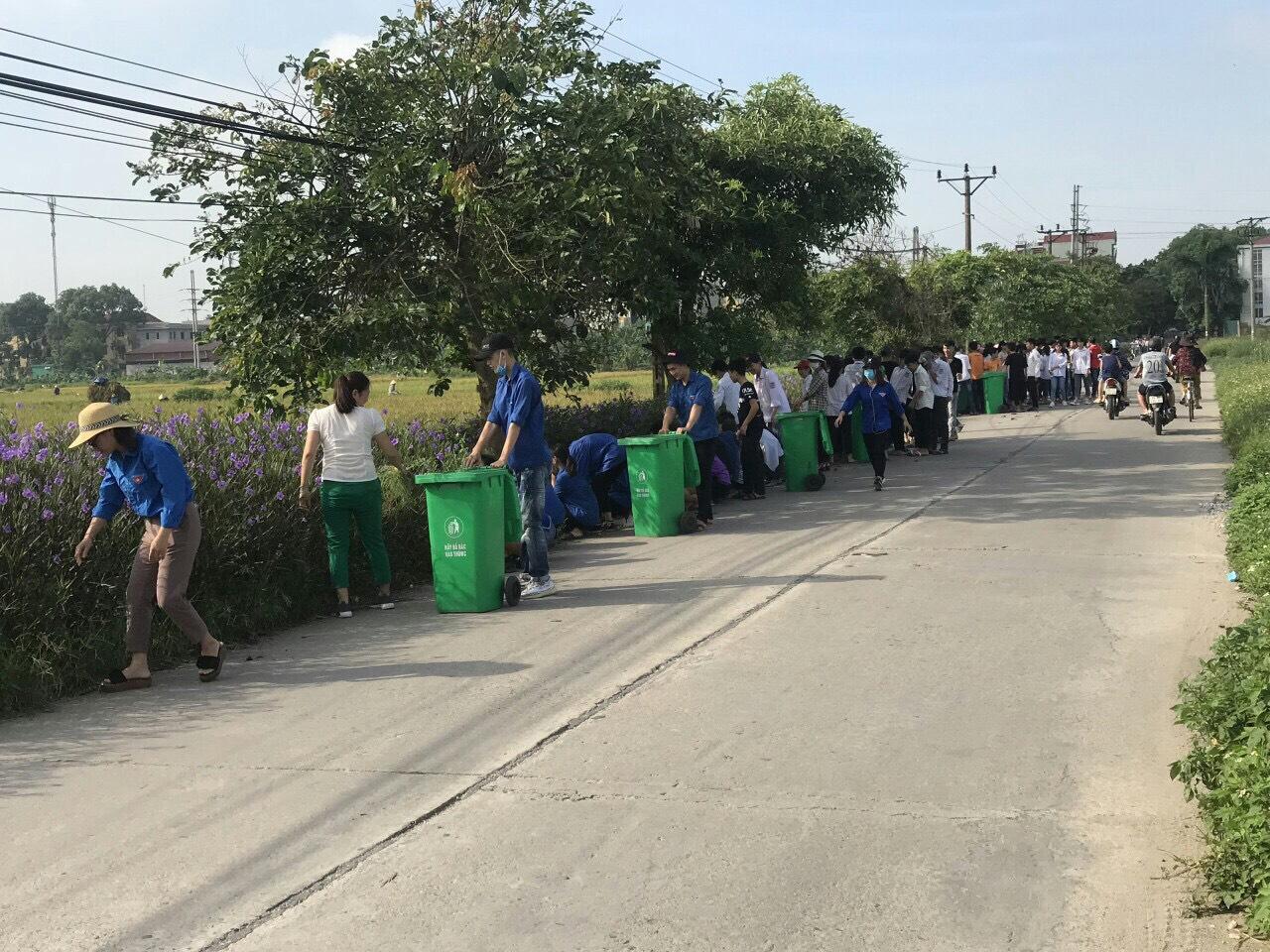 Tiên Du khẩn trương xây dựng lò đốt rác công suất nhỏ, nỗ lực cải thiện môi trường  - Ảnh 1