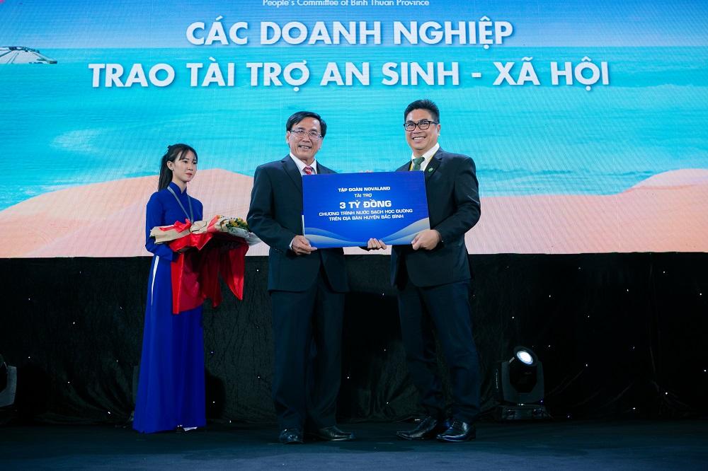 Thực hiện trách nhiệm xã hội tại Bình Thuận, Novaland tiếp tục song hành cùng Giáo dục & Đào tạo - Ảnh 3