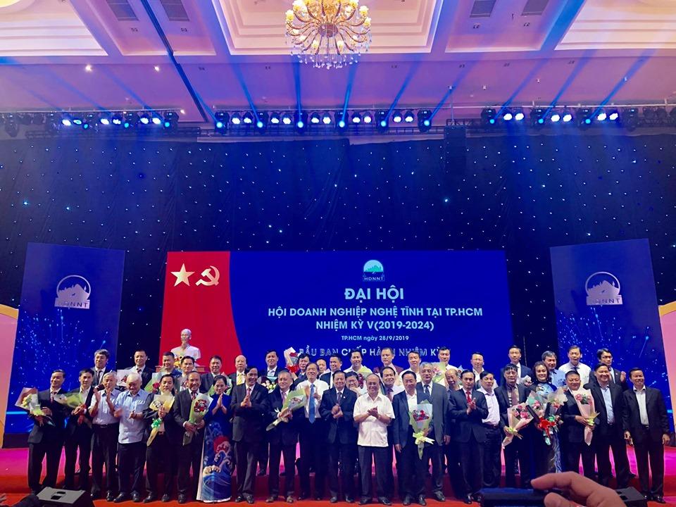 Doanh nhân Trần Thanh Tịnh đồng hành cùng Hội Doanh nghiệp Nghệ Tĩnh tại TP. Hồ Chí Minh  - Ảnh 1