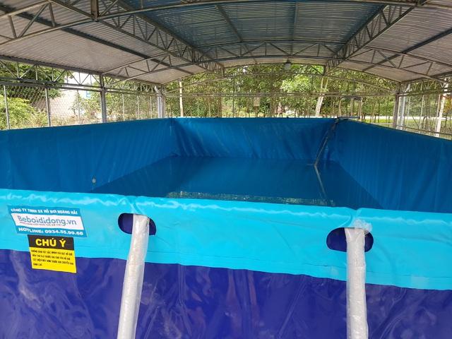 Trao tặng 5 bể bơi di động miễn phí của nhà sản xuất Hoàng Hải - Ảnh 6