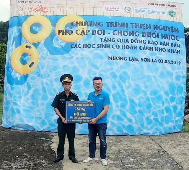 Trao tặng 5 bể bơi di động miễn phí của nhà sản xuất Hoàng Hải - Ảnh 7