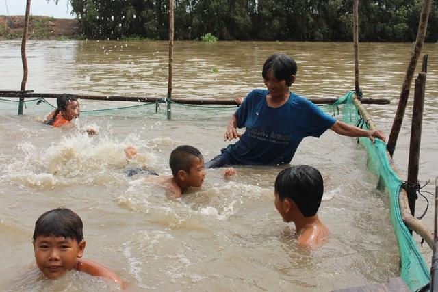 Trao tặng 5 bể bơi di động miễn phí của nhà sản xuất Hoàng Hải - Ảnh 2