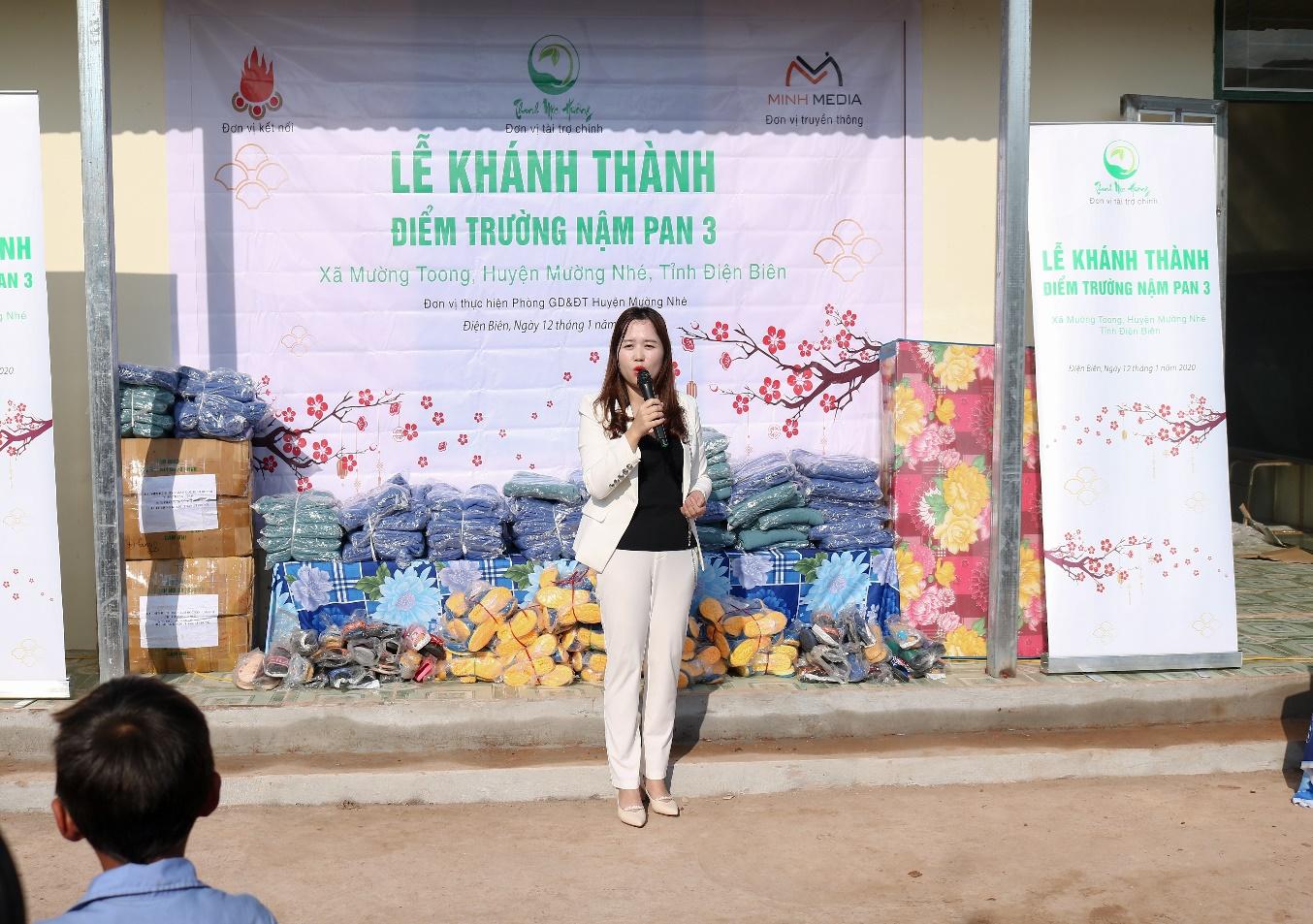 Long trọng tổ chức khánh thành công trình phòng học Thanh Mộc Hương thứ 1 tại Điện Biên  - Ảnh 5