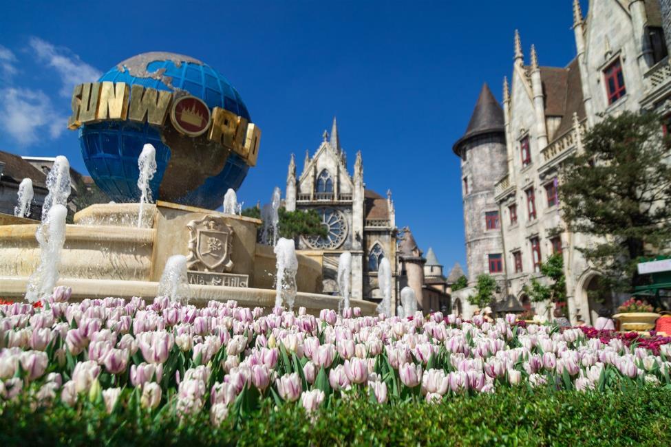 """Phiêu bồng xứ hoa Bà Nà, """"sống ảo"""" cùng 1,5 triệu bông tulip và hơn thế nữa  - Ảnh 7"""