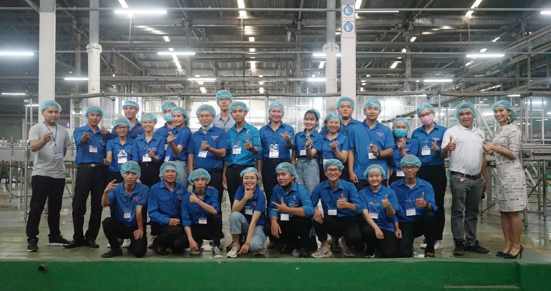 Đoàn đại biểu lớp tập huấn chuyển giao Khoa học công nghệ khu vực Đông Nam Bộ tham quan và giao lưu tại Tập đoàn Tân Hiệp Phát - Ảnh 4