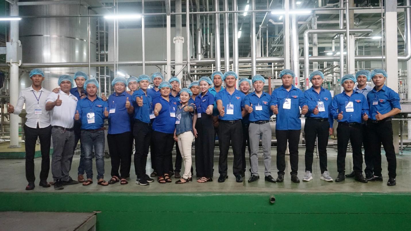Đoàn đại biểu lớp tập huấn chuyển giao Khoa học công nghệ khu vực Đông Nam Bộ tham quan và giao lưu tại Tập đoàn Tân Hiệp Phát - Ảnh 5