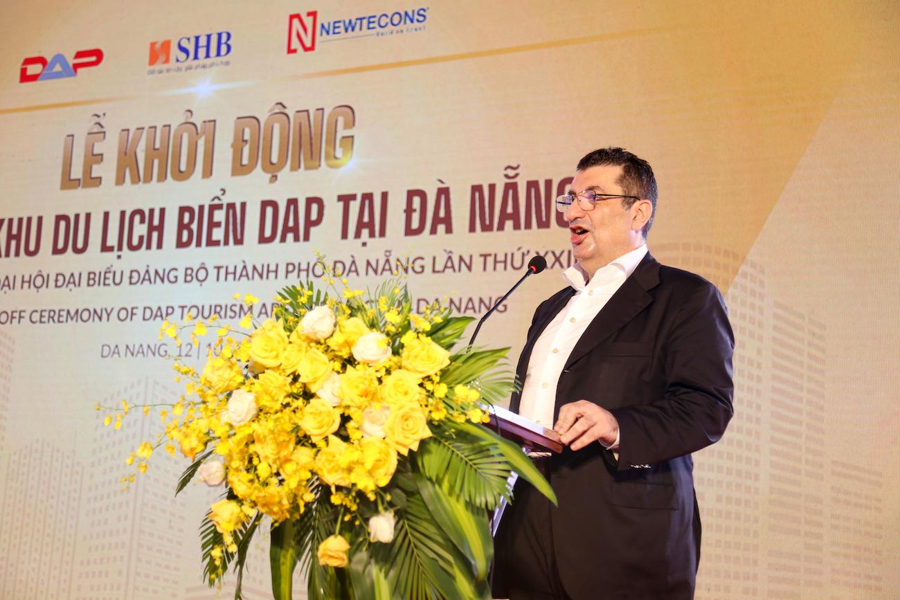 Khởi động dự án du lịch biển DAP tổng vốn đầu tư 5.000 tỷ đồng tại Đà Nẵng  - Ảnh 3