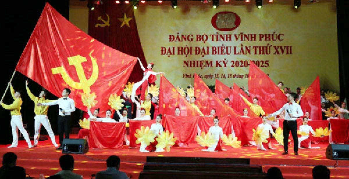 Khai mạc Đại hội đại biểu Đảng bộ tỉnh Vĩnh Phúc lần thứ XVII  - Ảnh 1