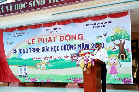 """Tỉnh Hà Nam phát động """"Chương trình sữa học đường"""" năm học 2020-2021 - Ảnh 1"""