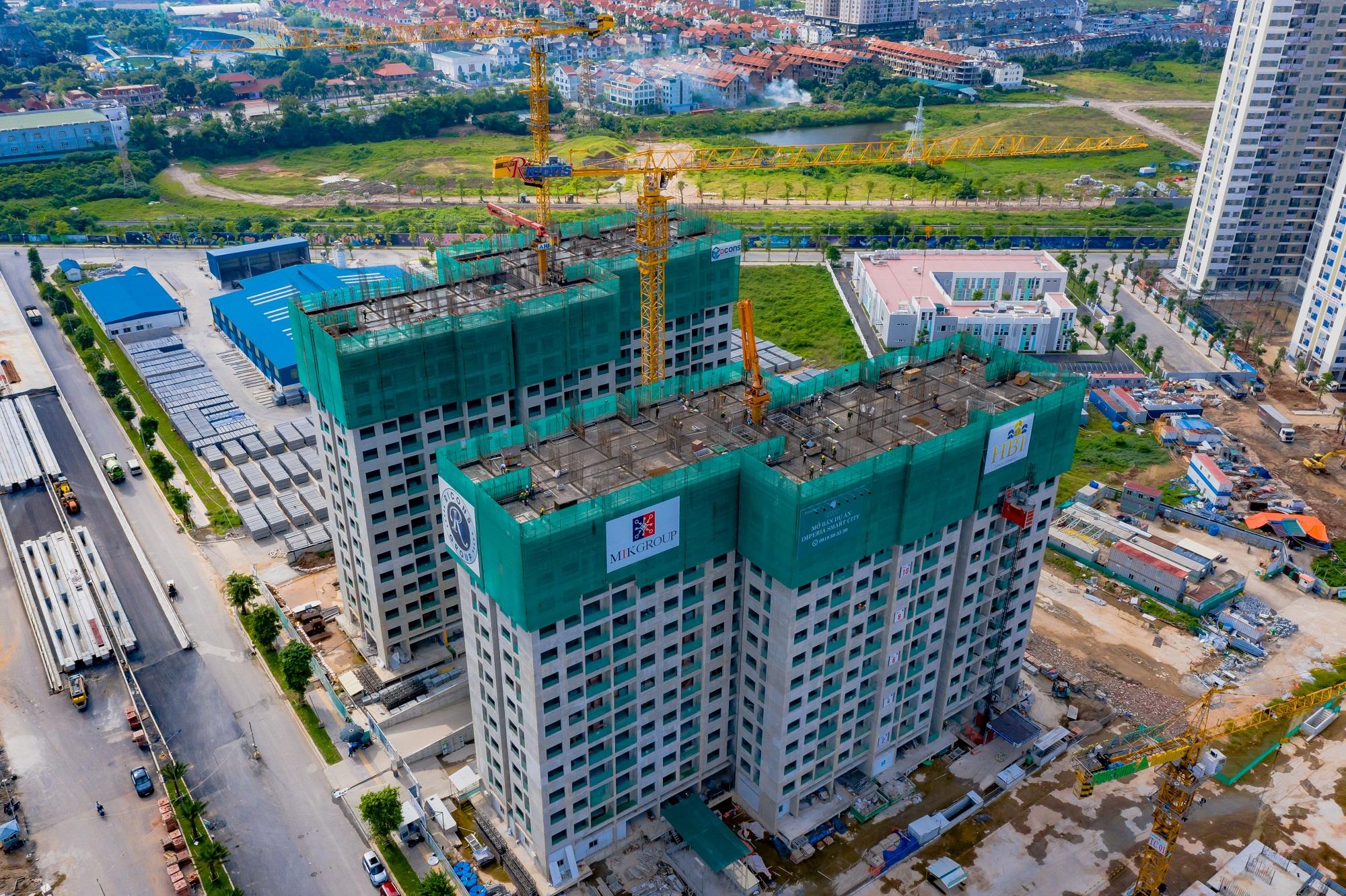 Imperia Smart City đảm bảo tiến độ và chất lượng xây dựng - Ảnh 1