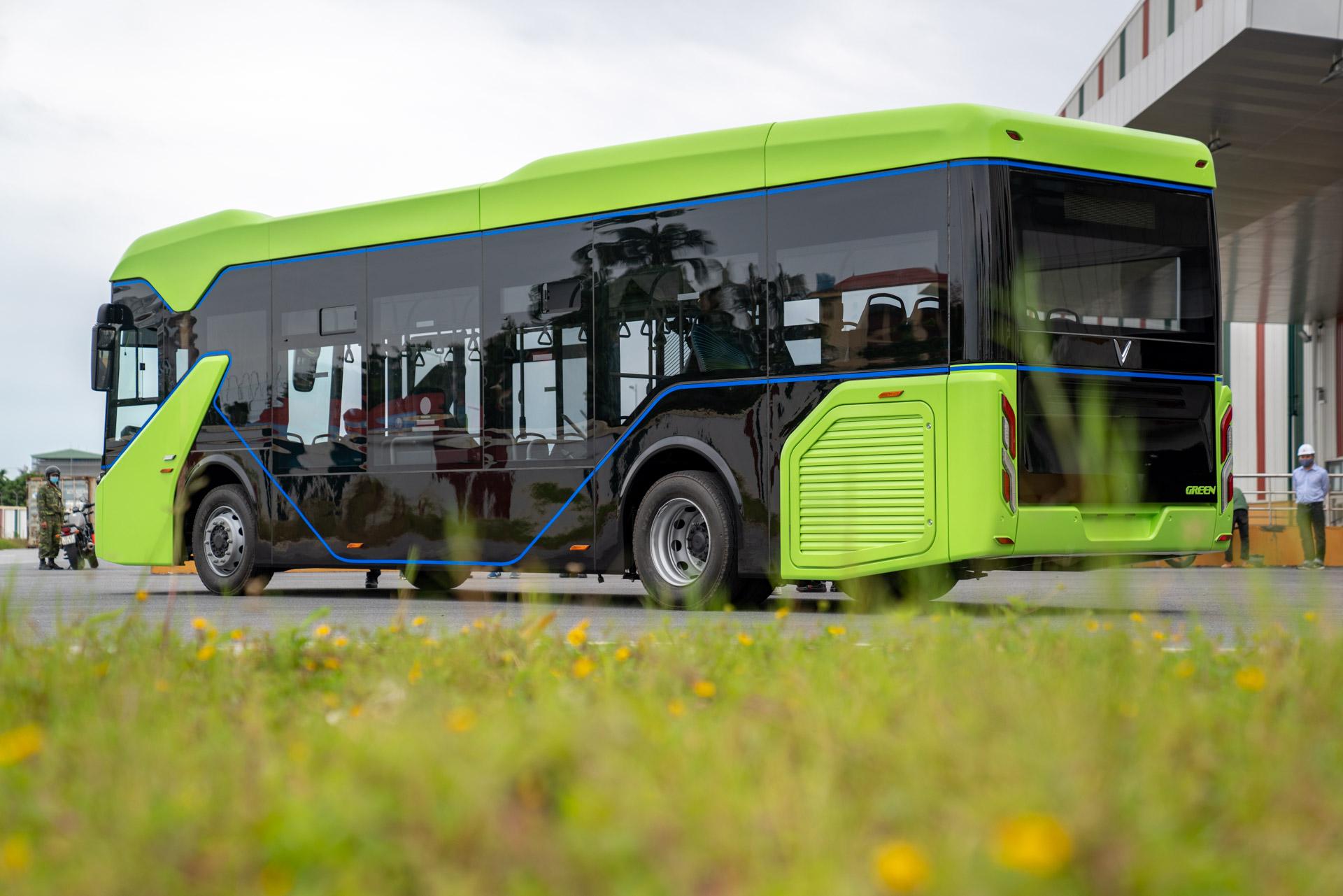 Vingroup chính thức chạy thử nghiệm xe buýt điện VinFast - Ảnh 4