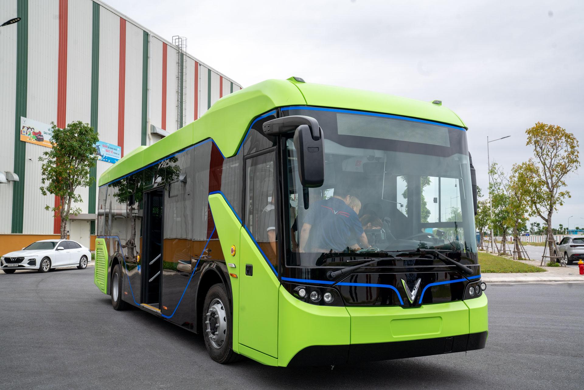 Vingroup chính thức chạy thử nghiệm xe buýt điện VinFast - Ảnh 6