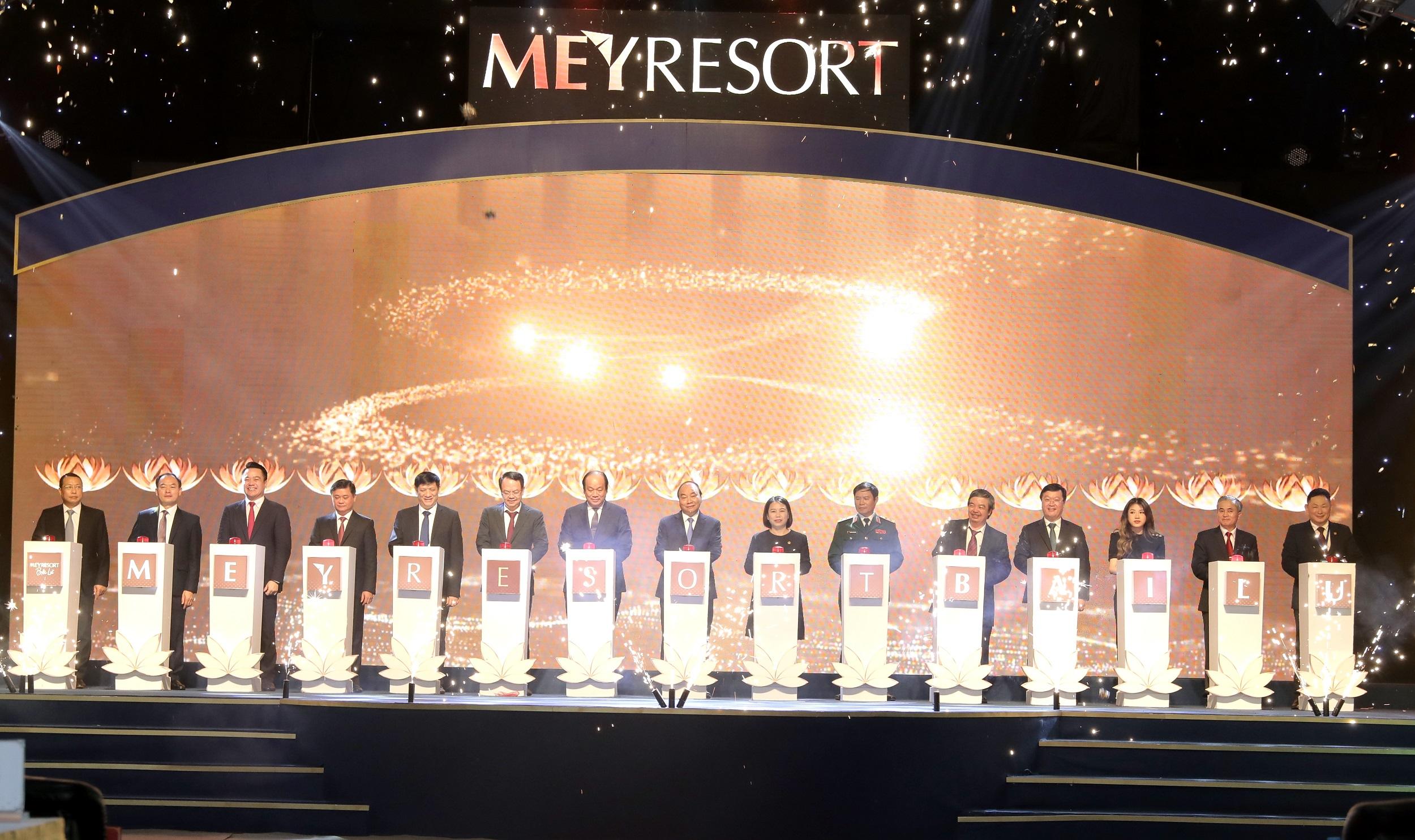 Tập đoàn Tân Á Đại Thành khởi công dự án MEYRESORT BÃI LỮ (giai đoạn 2) - Ảnh 1