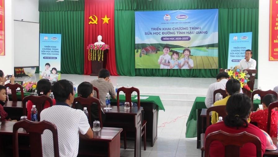 Tỉnh Hậu Giang tiếp tục mở rộng chương trình sữa học đường - Ảnh 1