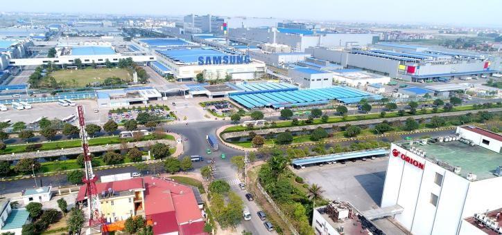 Bắc Ninh phát triển hạ tầng các khu công nghiệp, góp phần đẩy mạnh thu hút đầu tư - Ảnh 1