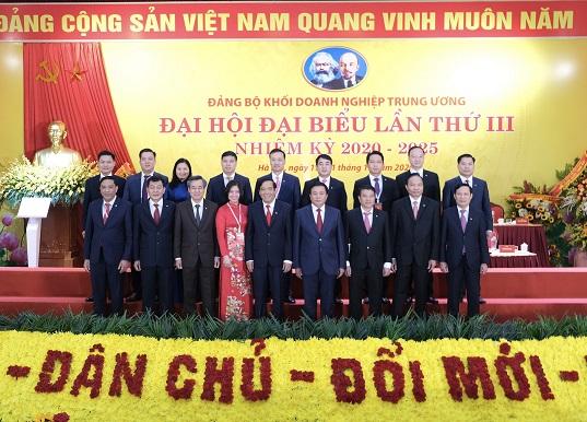 Đại hội đại biểu Đảng bộ Khối Doanh nghiệp Trung ương thành công tốt đẹp - Ảnh 7