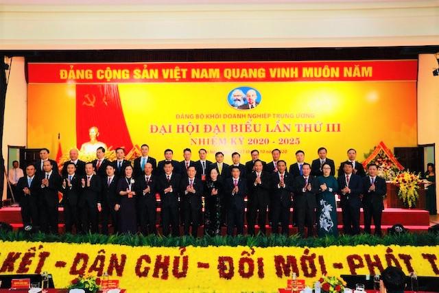 Đại hội đại biểu Đảng bộ Khối Doanh nghiệp Trung ương thành công tốt đẹp - Ảnh 9