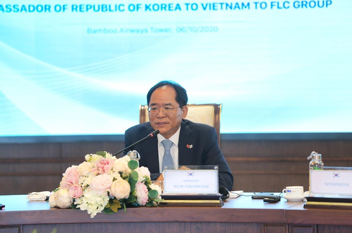 """Đại sứ Hàn Quốc tại Việt Nam: """"Sẵn sàng là cầu nối giữa FLC và các đối tác Hàn Quốc"""" - Ảnh 1"""