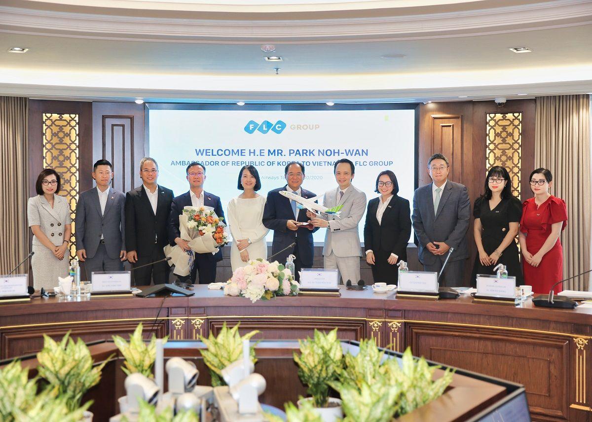 """Đại sứ Hàn Quốc tại Việt Nam: """"Sẵn sàng là cầu nối giữa FLC và các đối tác Hàn Quốc"""" - Ảnh 3"""