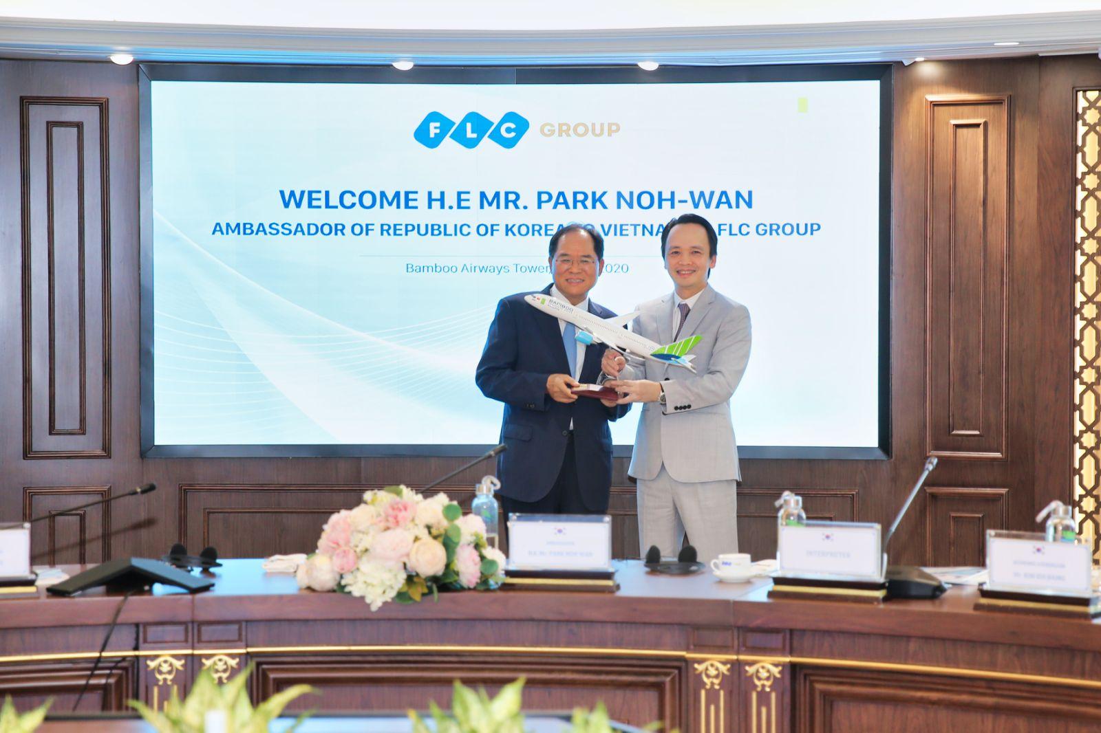 """Đại sứ Hàn Quốc tại Việt Nam: """"Sẵn sàng là cầu nối giữa FLC và các đối tác Hàn Quốc"""" - Ảnh 4"""