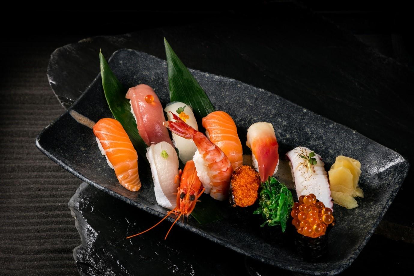 Không gian sang trọng, tinh tế tại Wabi Premium Japanese Restaurant  - Ảnh 7
