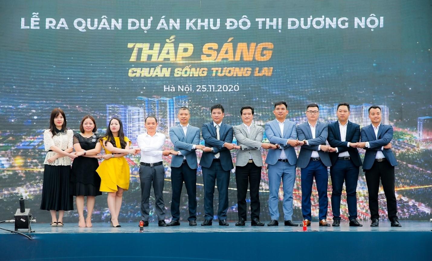 Hàng nghìn 'chiến binh' tham dự Lễ ra quân dự án Khu đô thị Dương Nội - Ảnh 1