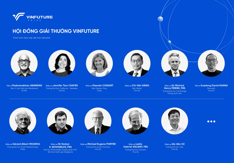 Công bố giải thưởng toàn cầu VinFuture - Ảnh 2