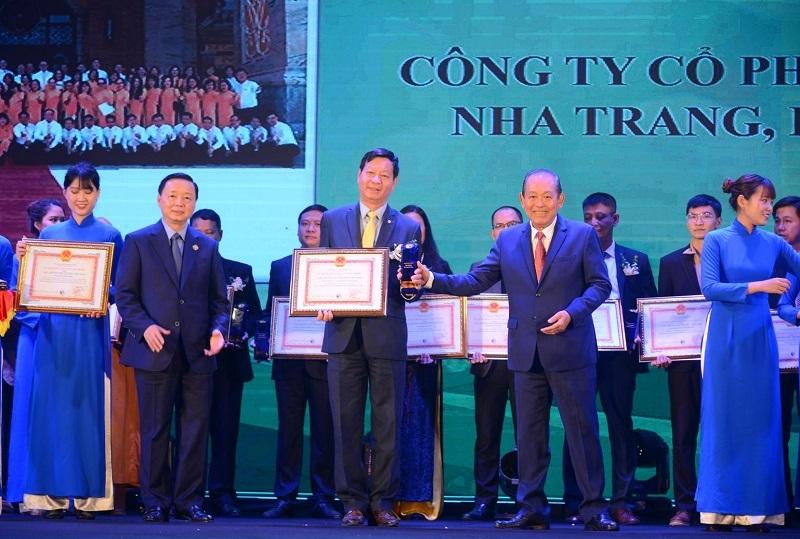 Vinpearl nhận giải thưởng Môi trường quốc gia duy nhất của ngành du lịch - Ảnh 1