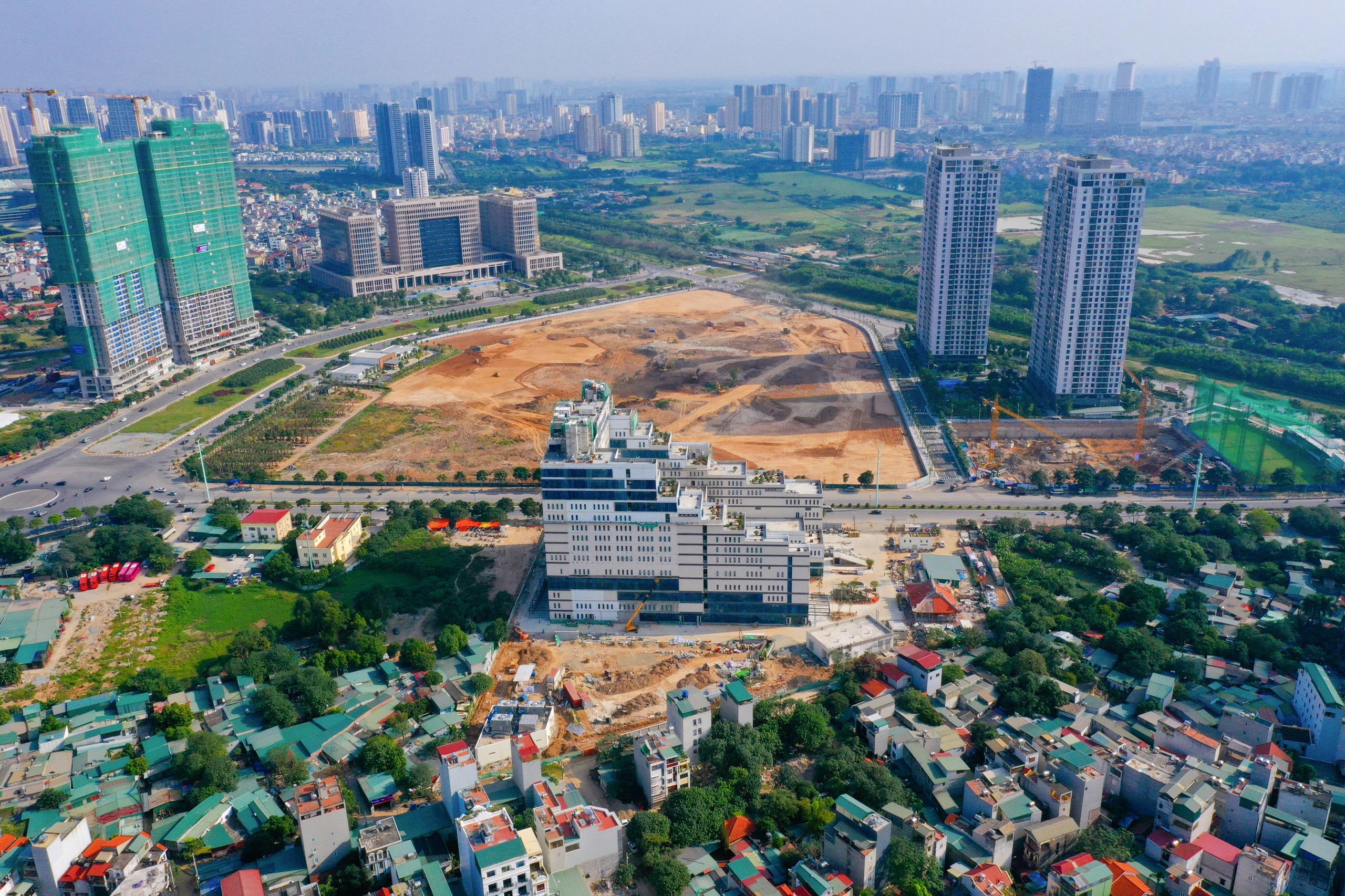 Sắp có thêm bệnh viện 5 sao hơn 2000 tỷ và công viên 14ha tại quận Nam Từ Liêm - Ảnh 1