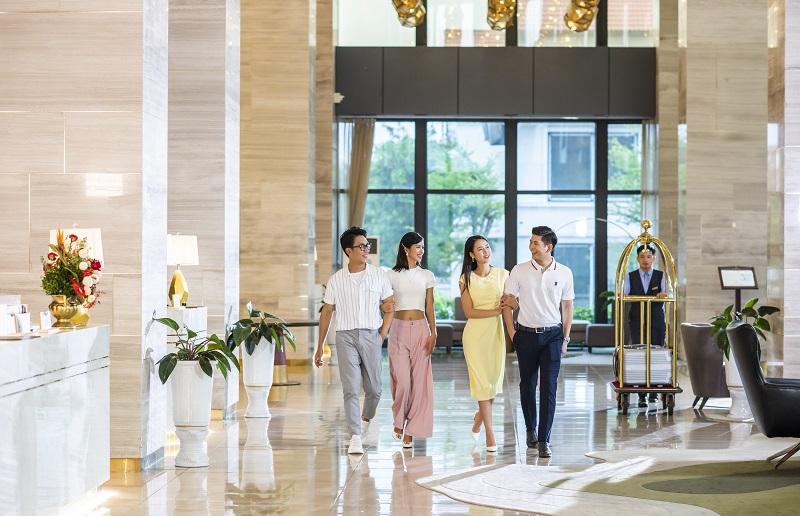 Trải nghiệm mùa lễ hội siêu sang tại khách sạn cao nhất Bắc Trung Bộ - Ảnh 5