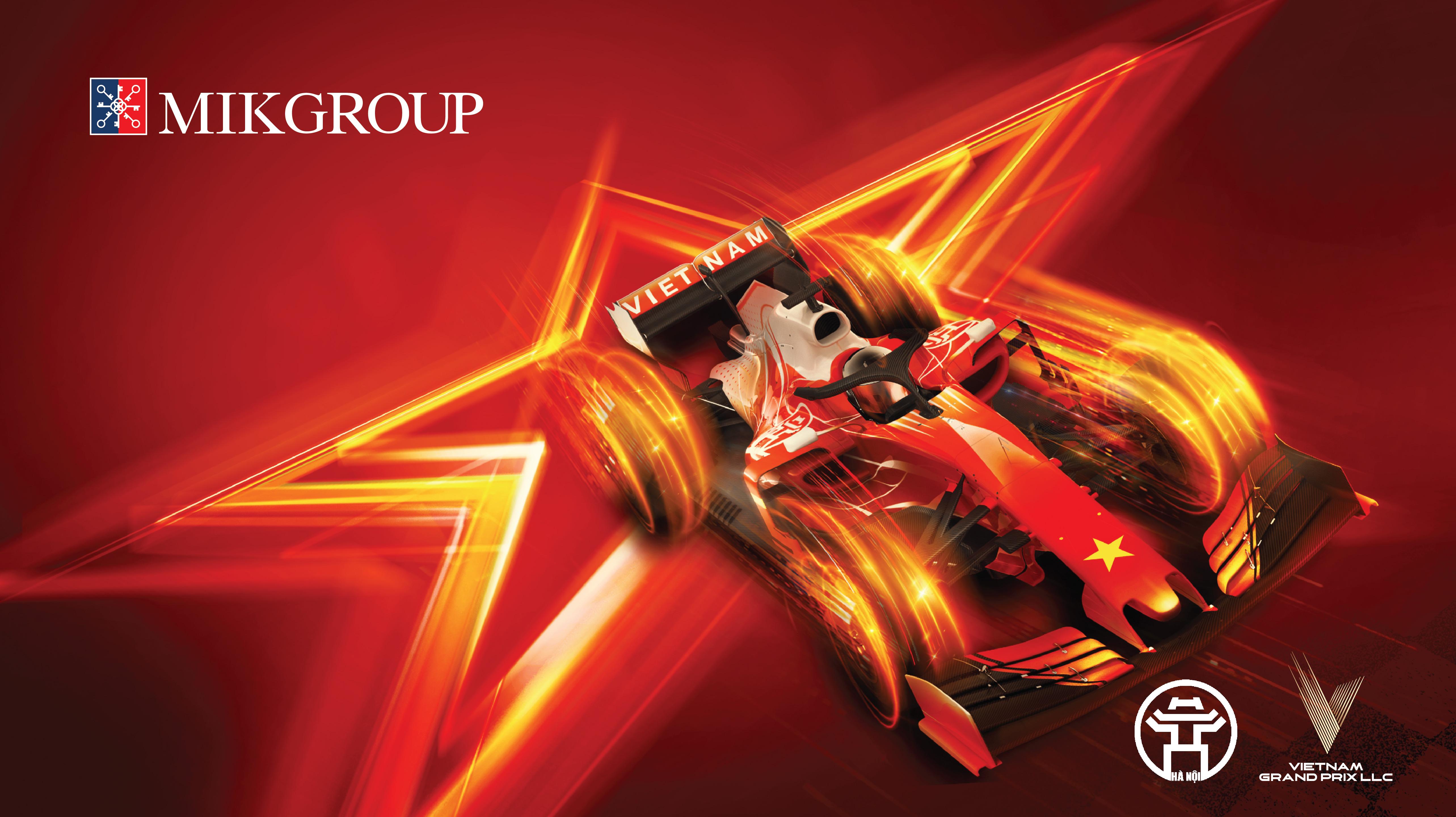 """MIKGroup """"chơi lớn"""" khi đồng hành cùng Giải đua công thức 1 Việt Nam  - Ảnh 1"""