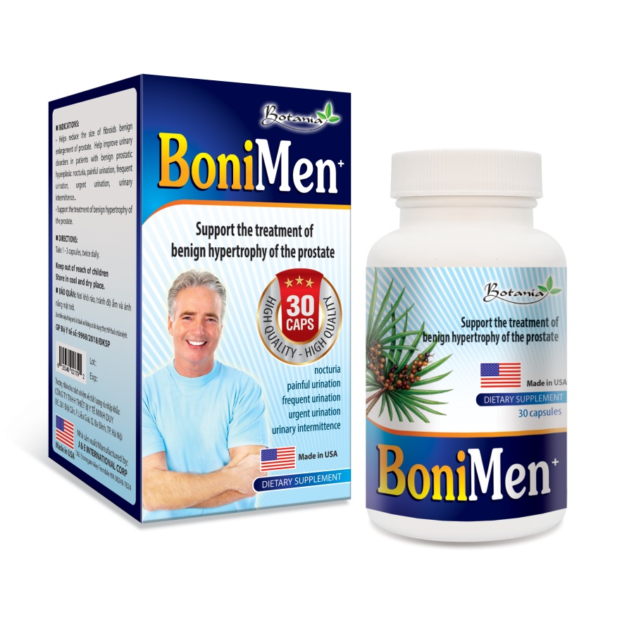 BoniMen – Bí mật giúp tiền liệt tuyến phì đại trở về bình thường  - Ảnh 2