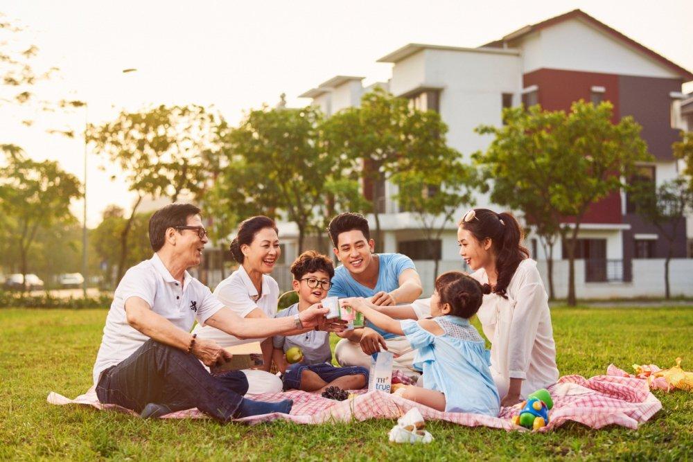 Chọn không gian sống cho gia đình 3 thế hệ - Ảnh 1