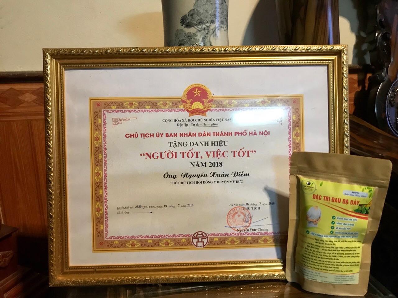 Bật mí bài thuốc đặc trị bệnh dạ dày của lương y Nguyễn Xuân Điềm  - Ảnh 4