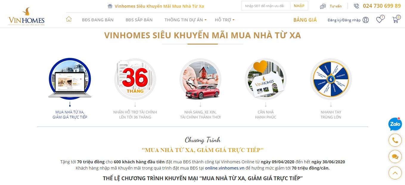 Vinhomes ra mắt sàn giao dịch bất động sản trực tuyến  - Ảnh 5