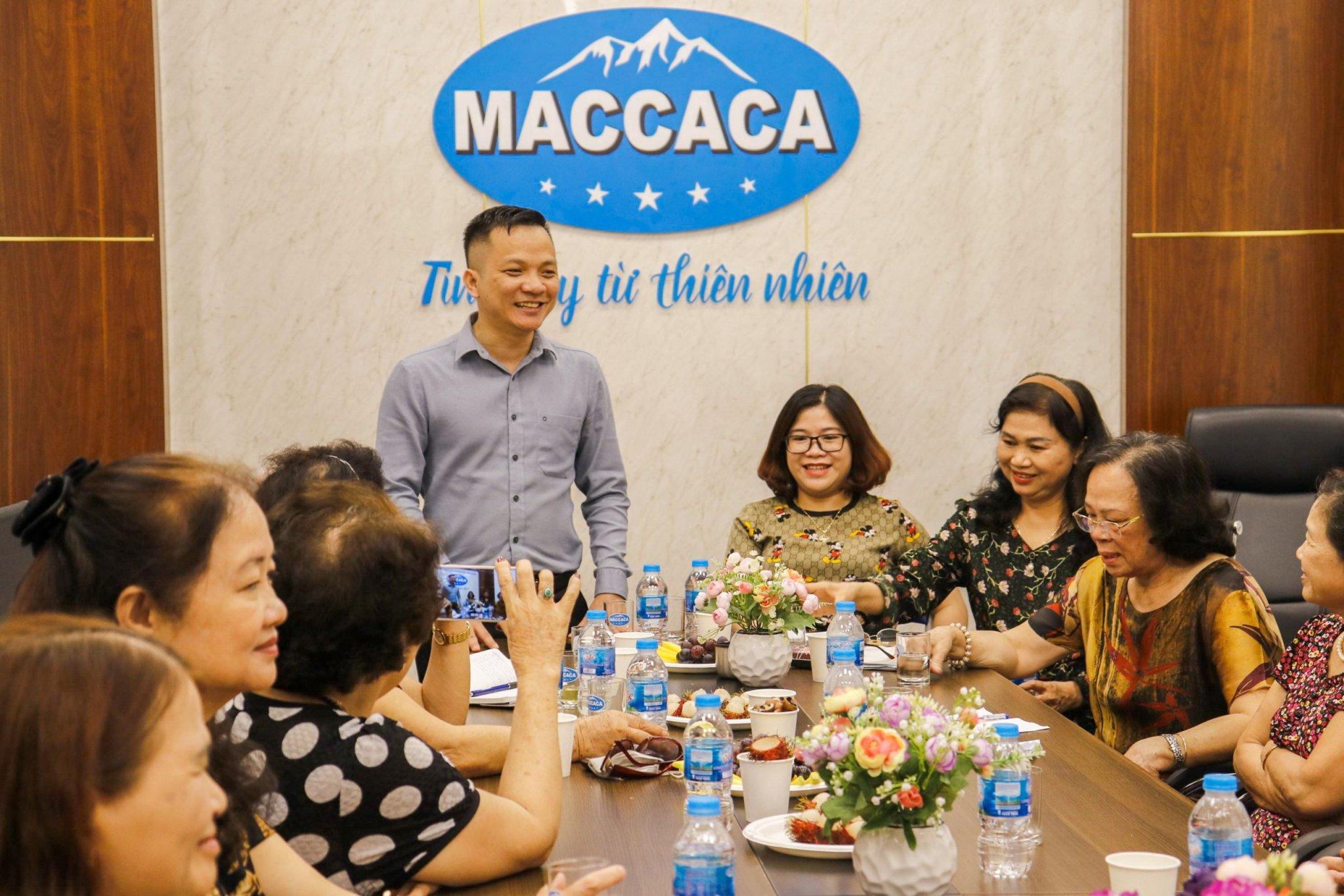 Hội đồng hương Phụ nữ Nghệ An tại Hà Nội thăm và làm việc với Công ty Macca Nutrition  - Ảnh 2