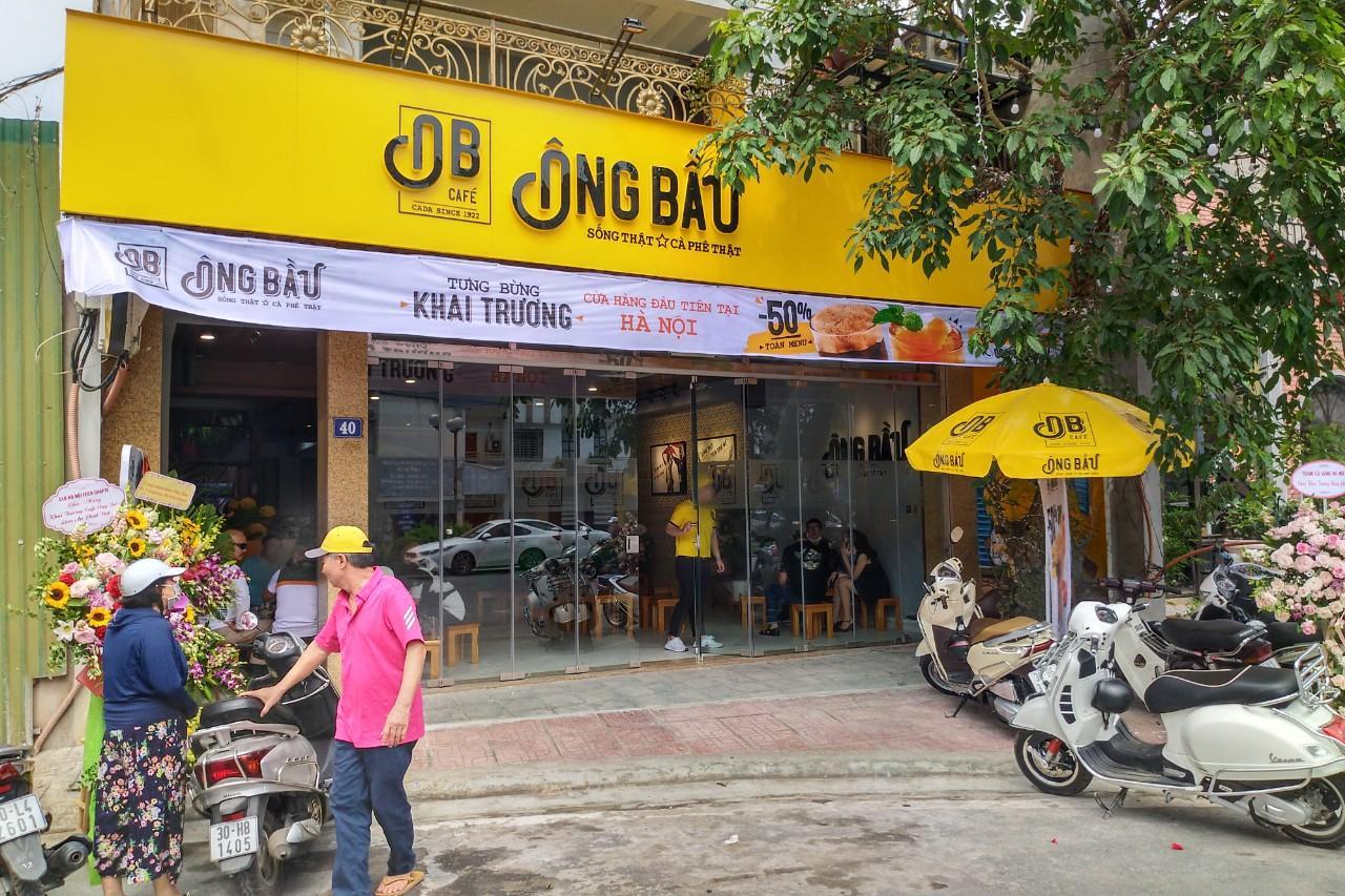 Cà phê ông Bầu chính thức có mặt tại Hà Nội  - Ảnh 1