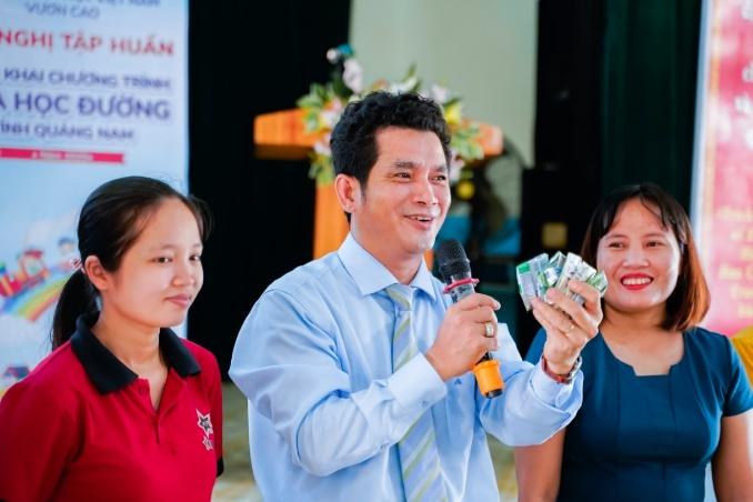 Sữa học đường Quảng Nam: Học sinh miền núi được uống sữa miễn phí - Ảnh 5