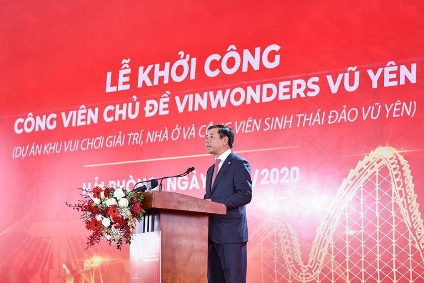 Vingroup khởi công dự án công viên chủ đề lớn nhất Việt Nam  - Ảnh 1