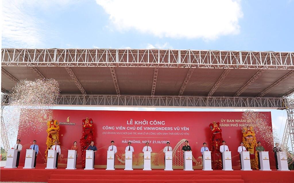 Vingroup khởi công dự án công viên chủ đề lớn nhất Việt Nam  - Ảnh 2