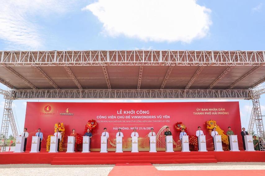 Vingroup khởi công dự án công viên chủ đề lớn nhất Việt Nam  - Ảnh 3