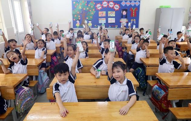 """Nhân rộng niềm vui mang tên """"Sữa học đường""""  - Ảnh 1"""
