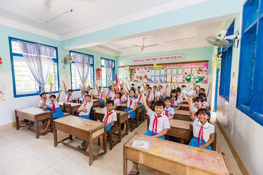 """Nhân rộng niềm vui mang tên """"Sữa học đường""""  - Ảnh 11"""